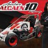 Amber Balcaen Racing - Hero Card - Dirt Track - Front