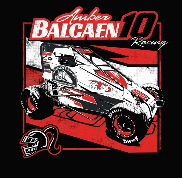 Amber Balcaen Racing - Dirt Track Graphic
